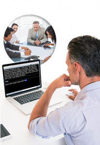Actively participate in conference calls and webinars with real-time captioning.
